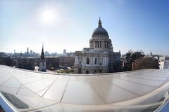 St. Paul's Cathedral  in London,  England Royalty Free Stock Photos
