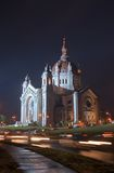 St Paul S Cathedral At Night Stock Image