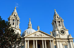 St. Paul's Cathedral church, London Royalty Free Stock Photos
