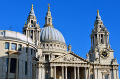 St Paul's Cathedral church, London, UK Stock Image