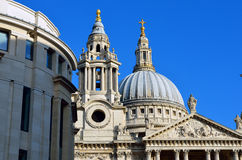 St. Paul's Cathedral church, London, UK Stock Photography