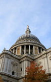 St Paul's Cathedral dome, London. Stock Photography