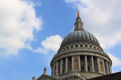St. Paul Cathedral Dome in London Stock Photos