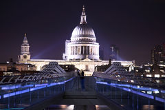 St-Paul`s Cathedral in evening Stock Photo