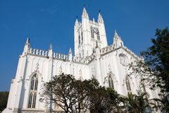St Paul's Cathedral in Kolkata ( Calcutta ),  India. Royalty Free Stock Photography