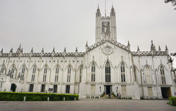St. Paul's Cathedral of Kolkata, India Stock Photo