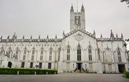 St. Paul's Cathedral of Kolkata, India Stock Photo