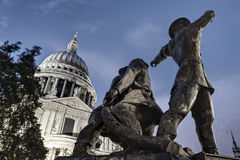 St Paul's Cathedral in London Stock Photography