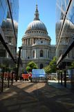 St Paul`s Cathedral in London Royalty Free Stock Images