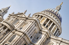 St. Paul`s Cathedral, London. Royalty Free Stock Photos