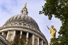 St Paul`s Cathedral, London Stock Images