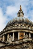St-Paul's Cathedral in London. Picture of the St-Paul's Cathedral Royalty Free Stock Photo