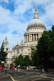 St-Paul's Cathedral in London. Picture of the St-Paul's Cathedral Royalty Free Stock Image