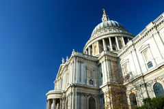 St-Paul's Cathedral in London. Picture of the St-Paul's Cathedral Stock Photos