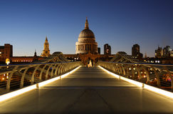 St. Paul's Cathedral in London royalty free stock images