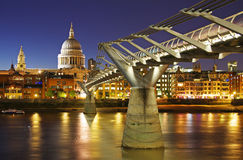 St. Paul's cathedral in London royalty free stock photography