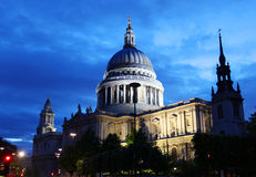St. Paul's cathedral in London Stock Image