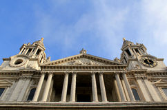 St Paul's Cathedral in London. Stock Photography