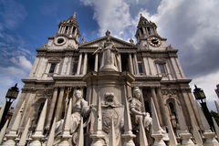 St Paul's Cathedral in London Royalty Free Stock Images