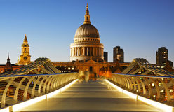 St. Paul's Cathedral in London royalty free stock photo
