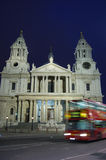 St Paul's Cathedral in London stock images