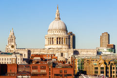 St Paul`s Cathedral in London Royalty Free Stock Photo