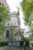 St. Paul`s Cathedral in London Royalty Free Stock Photography