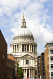 St Paul's Cathedral, London, England. Royalty Free Stock Images