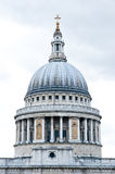 St. Paul's Cathedral in London. The dome of St. Paul's Cathedral in London Royalty Free Stock Photography