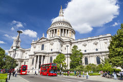 St. Paul's Cathedral in London, editorial Royalty Free Stock Photos