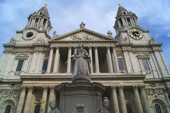 St Paul's Cathedral, London, England Royalty Free Stock Images