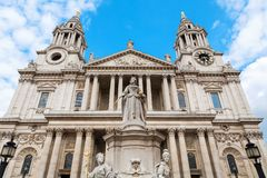 St Paul`s Cathedral. London, England Stock Photography