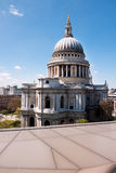 St. Paul's Cathedral in London Stock Photos