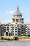 St Paul's cathedral, London. Royalty Free Stock Images