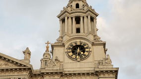 St Paul's cathedral in London stock video