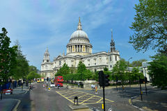 St Paul's Cathedral, London, the UK Royalty Free Stock Photos