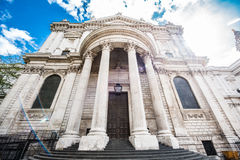 St Paul`s Cathedral, London, UK royalty free stock image