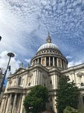 St.Paul`s Cathedral, London, United Kingdom stock images