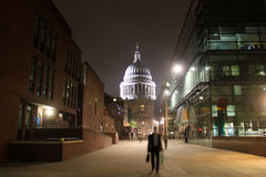 St. Paul's Cathedral in London Royalty Free Stock Photos
