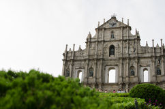St Paul s Cathedral.Macao. Macao landmarks -Cathedral of Saint Paul Stock Photography