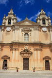 St Paul's Cathedral, Malta Royalty Free Stock Photos