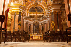 St Paul's Cathedral, Mdina, Malta Stock Photo