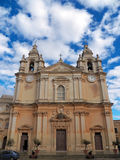 St. Paul's Cathedral of Mdina, Malta Stock Photo