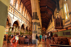 St Paul's Cathedral - Melbourne Stock Photo