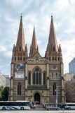 St Paul s Cathedral, Melbourne Royalty Free Stock Image