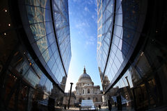 St. Paul's Cathedral  in London,  England Stock Photos