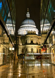St. Paul's Cathedral from 1 New Change Royalty Free Stock Photography