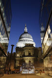St Paul's Cathedral at Night Stock Photo