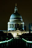 St Paul's Cathedral at night Royalty Free Stock Photo