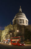 St. Paul's Cathedral at night Stock Photos